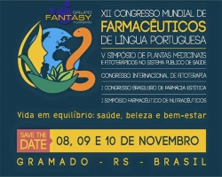 XII Congresso Mundial de Farmacêuticos de Língua Portuguesa 2016