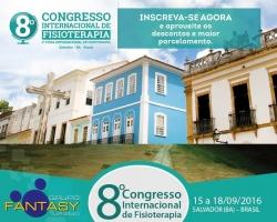8º Congresso Internacional de Fisioterapia 2016