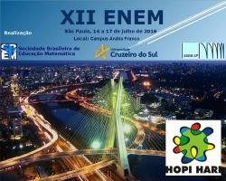 XII ENEM - Encontro Nacional de Educação Matemática