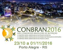 XXIV CONBRAN - Congresso Brasileiro de Nutrição 2016